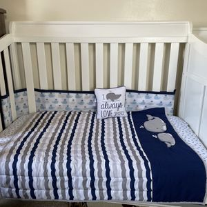 Baby Crib With Dresser And Changing Station for Sale in Washington, DC