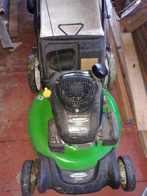 Lawnboy lawn mower with bagger for Sale in BETHEL, WA