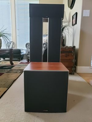 Polk Audio Speakers, Yamaha Receiver for Sale in Vancouver, WA
