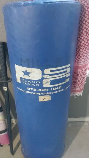 Punch bag for Sale in Dallas, TX