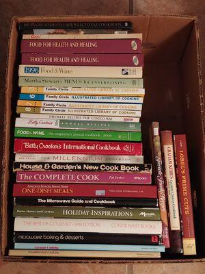 Bulk Cookbooks - Lot of 27 for Sale in Albuquerque, NM