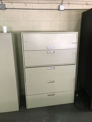 Large office file cabinet for Sale in Tampa, FL