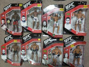 JAKKS PACIFIC UFC SERIES 1 & 2 KMART EXCLUSIVE 8 ACTION FIGURES JON JONES, ANDERSON SILVA, ALISTAIR OVEREEM, JUNIOR DOS SANTOS, CAIN VELASQUES RARE for Sale in Berlin, NJ