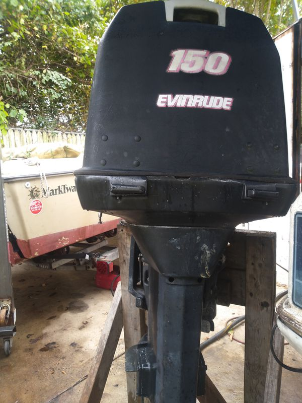 Johnson 150hp outboard motor 25inch shaft