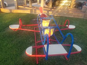 Airplane teeter tot for Sale in Moreno Valley, CA