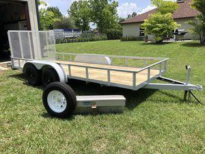 READ AD : 6x16 Tandem Axle Trailer for Sale in MAGNOLIA SQUARE, FL