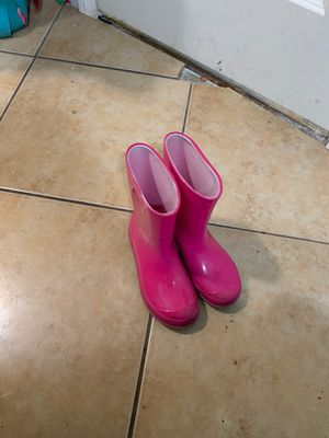 Girls pink rain boots for Sale in Los Angeles, CA