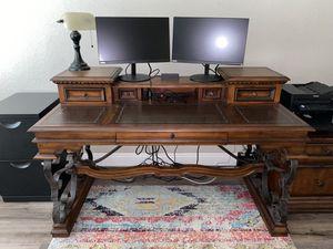 Good Condition - Desk, Filing Cabinet, & Bookshelf for Sale in Mission Viejo, CA
