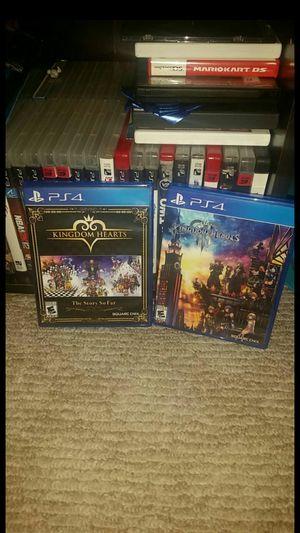 Kingdom Hearts Ps4 Bundle for Sale in Los Angeles, CA