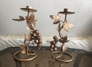 Fall Candle Holder (2) for Sale in San Antonio, TX