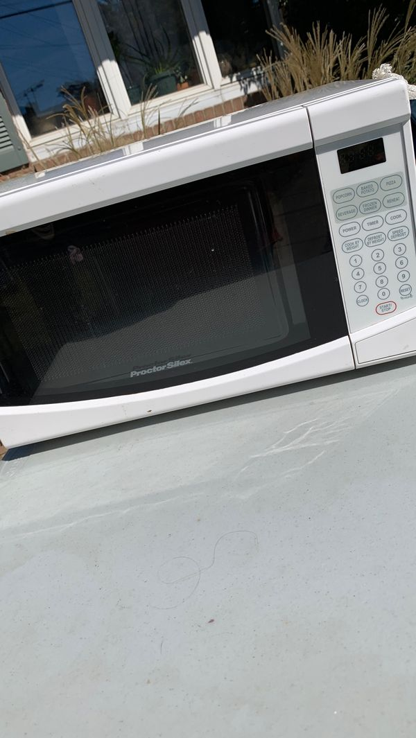 Small microwave $20