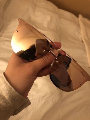 Quay Australia Pink Mirrored Sunglasses for Sale in San Francisco, CA