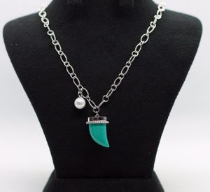 Turquoise Ivory Gemstone Chain Neck for Sale in Silver Spring, MD