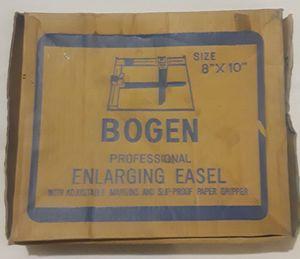 """Vintage Bogen Professional Adjustable Enlarging Easel W/ Original Box - 8""""x10"""" for Sale in Sauk Rapids, MN"""