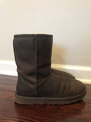 UGG leather boots 7 women's for Sale in Pepper Pike, OH