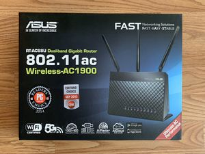 ASUS AC1900 router , works perfectly. I can actually show you it works for Sale in Huntington Beach, CA