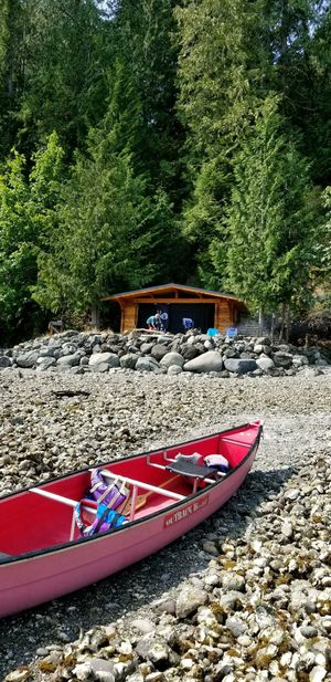 Coleman 16' canoe with trolling motor for Sale in Sultan, WA