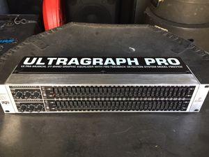 Behringer Ultragraph Pro FBQ 3102 for Sale in Loxahatchee, FL
