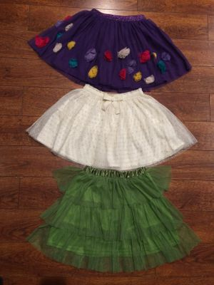 3 Tutu skirts girls 7-8-11Y for Sale in Los Angeles, CA