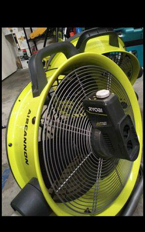 RYOBI 18V CORDLESS OR CORDED DUAL POWER FAN NEW TOOL ONLY for Sale in San Bernardino, CA