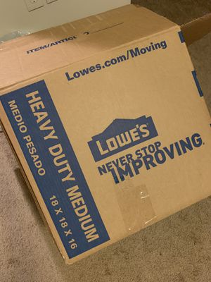 FREE BOXES LARGE AND MEDIUM for Sale in Benton, AR