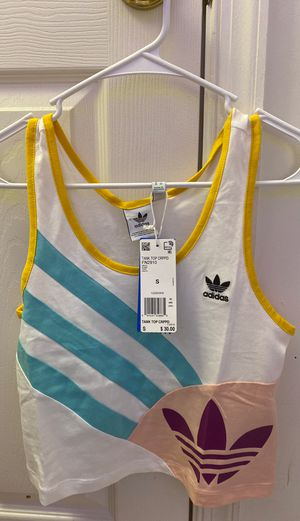 adidas cropped tank for Sale in Fairfax, VA