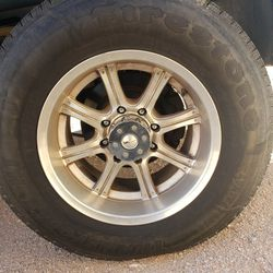 18 inch wheels and tires for Sale in Roosevelt,  AZ