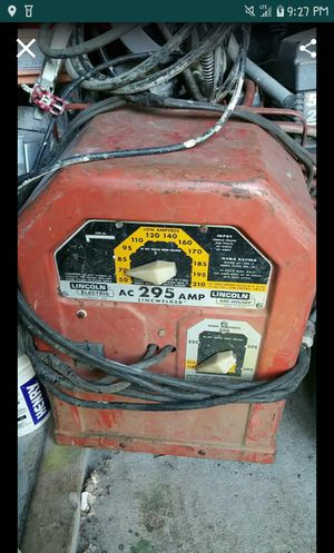 Lincoln Electric 295 amp ARC Welder for Sale in Portland, OR
