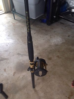 Fishing rod and reel for Sale in Boynton Beach, FL