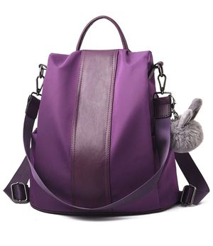 Backpack Purse (black or purple color option available) for Sale in Largo, FL