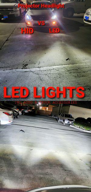 Led Lights Headlights Daytime Running Lights Fog Lights hid Lights Kit Bulbs for Sale in Santa Ana, CA