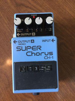 Boss Super Chorus Guitar Pedal for Sale in Detroit, MI