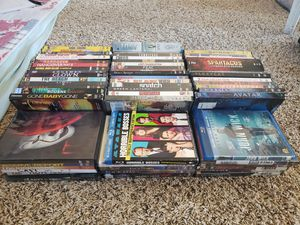 Over 60 DVDs & Blu-Rays, TV series and movies $40 obo for Sale in Buckeye, AZ