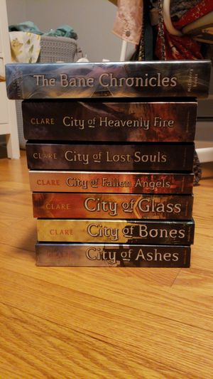 ALL 6 City of Bones Book Series (Including The Bane Chronicles) for Sale in Alexandria, VA