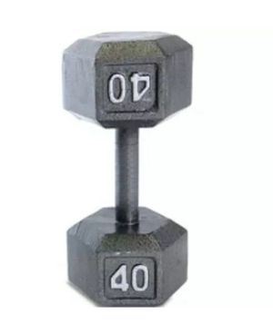 1x 40lb Dumbbell for Sale in NEW CARROLLTN, MD