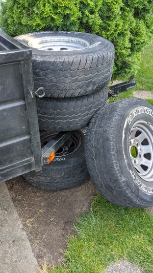 Ford bronco rims and tires for Sale in Hillsboro, OR