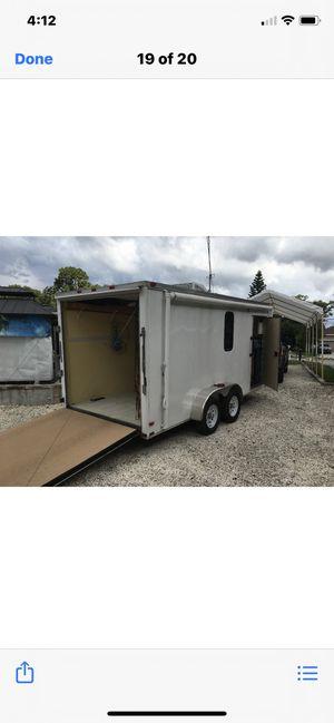 16 ft trailer/ toy hauler for Sale in Palm Harbor, FL