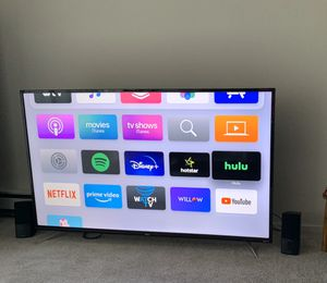 TCL 55inch 4K TV with Roku for Sale in Cupertino, CA