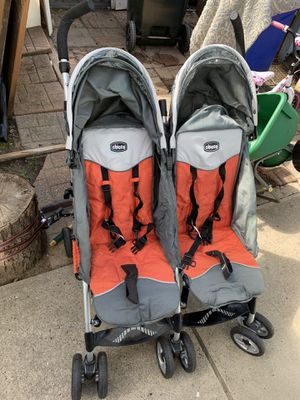 Chico double stroller for Sale in Plainfield, NJ