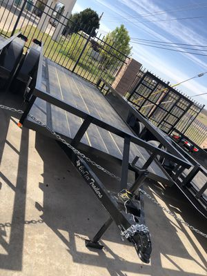 2019 brand new utility trailer 16x6.4 gvwr 4500 comes with title Finance available for Sale in Odessa, TX