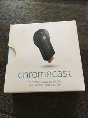 Chromecast New in box for Sale in Henderson, NV