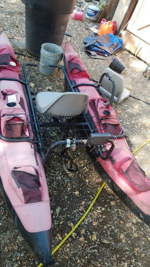 Inflatable pontoon boat for Sale in Sacramento, CA
