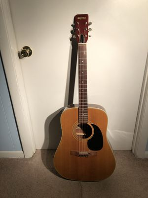 1970's UNIVOX ACOUSTIC GUITAR WITH ADDED TUNER AND PRE-AMP! for Sale in Severn, MD