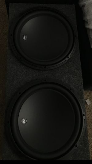Jl audio dual W3 12' subwoofers for Sale in Woodburn, OR