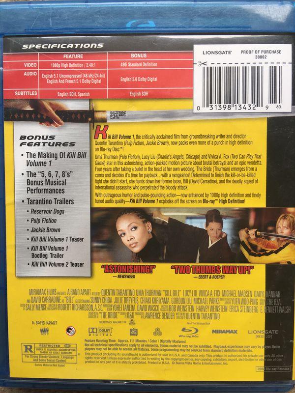 Kill Bill (Blu-Ray)