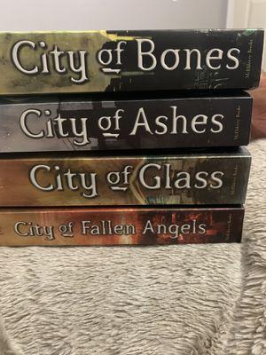 The Mortal Instruments books 1-4 (City of Bones / City of Ashes / City of Glass / City of Fallen Angels) for Sale in North Las Vegas, NV