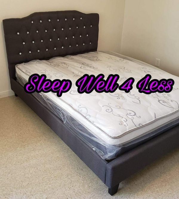 NEW💥QUEEN BED💥MATTRESS INCLUDED💥IN STOCK 💥💥