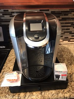 Keurig 2.0 Machine with pod drawer for Sale in St. Louis, MO