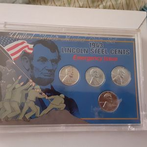 1943 Lincoln Steel Cents Emergency Issue for Sale in District Heights, MD