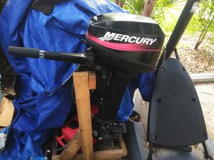 Mercury 9.9hp Runs good! Starts on first pull! for Sale in Indian Shores, FL